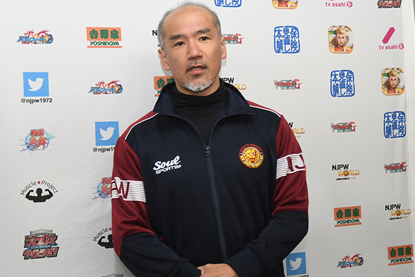 NJPW medical trainer Takeshi Misawa announced a comment about the current situation of Tomoaki Honma's injury before the match at Ota on March 6.