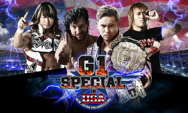 Manners & Rules at New Japan Pro-Wrestling's G1 Special in the USA
