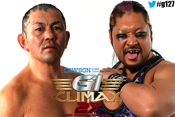 G1 Climax 27: on 7/27 the B Block action continues from Nagaoka! Who's terror will prove stronger: Suzuki v. EVIL! And Canada's best clash once more: Elgin v. Omega!