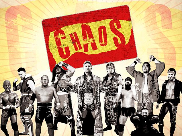 Resultado de imagem para chaos njpw members
