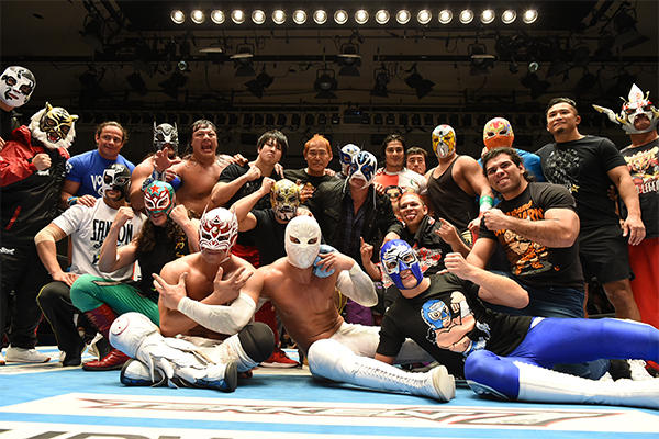 NJPW PRESENTS CMLL FANTASTICA MANIA 2018