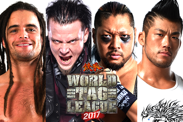 NJPW's Thanksgiving Special!  We invite the whole world to watch NJPW! World Tag League kicks off 11/18, 6:30 PM JST on NJPW World for FREE!