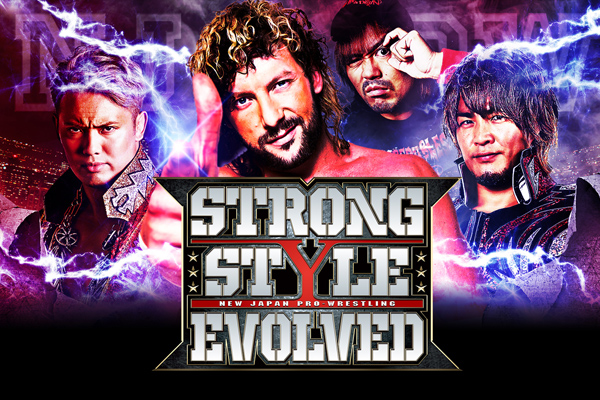 NJPW's next event in the USA: STRONG STYLE EVOLVED! Tickets on sale 1/29 10AM (PST) /1PM (EST)![la325]