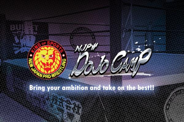 New Japan Pro-Wrestling Camp application begins today!
