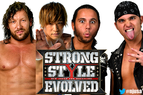Huge matches made for Strong Style Evolved! White v Page for US Title! Mysterio v Liger! Golden Lovers v Young Bucks!! [la325]
