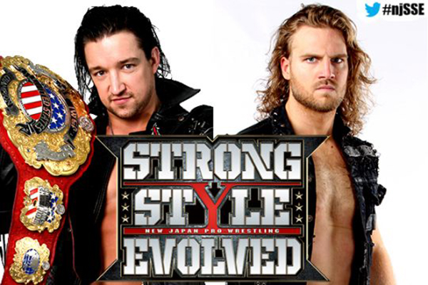 STRONG STYLE EVOLVED Pre-Show Event at the NJPW Dojo![la325]