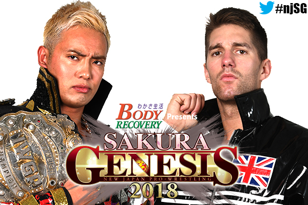 Two huge title matches made for Sakura Genesis April 1! Zack Sabre Junior challenges Okada, and a three way for the Junior Tag Titles!