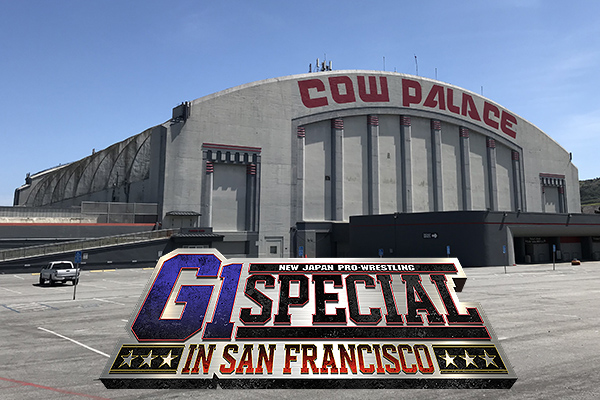 NJPW hits the Cow Palace! Tickets for G1 Special on sale May 1!