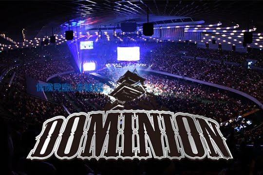 Huge news for overseas fans! Be one of a limited few to see Dominion live from Osaka Jo Hall June 9! On sale soon!