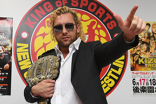 'In San Francisco, I'm going to represent NJPW. I represent pro wrestling.' New champion Kenny Omega looks ahead to Cody in the Cow Palace!
