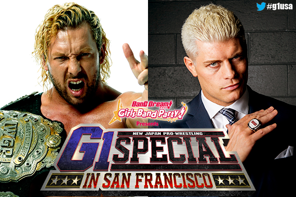 It's almost time! With the full card revealed, check out our preview of the G1 Special as NJPW hits San Francisco!