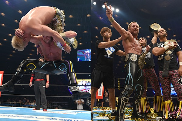 Finally Kenny Omega becomes IWGP heavyweight champion! and 4 other NEW CHAMPIONS!!
