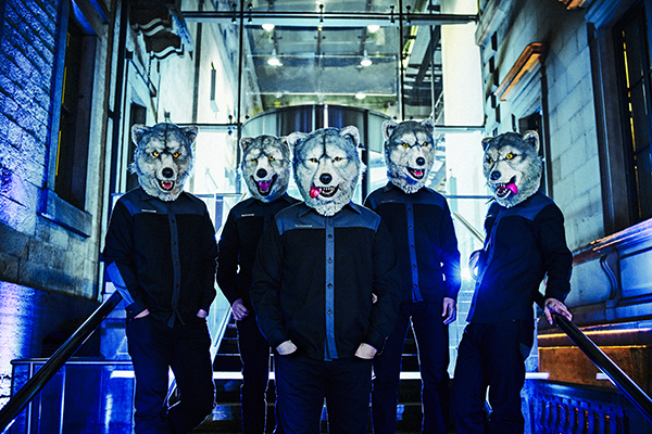 Japanese rock stars MAN WITH A MISSION to provide G1 Climax 28 theme! 【G128】