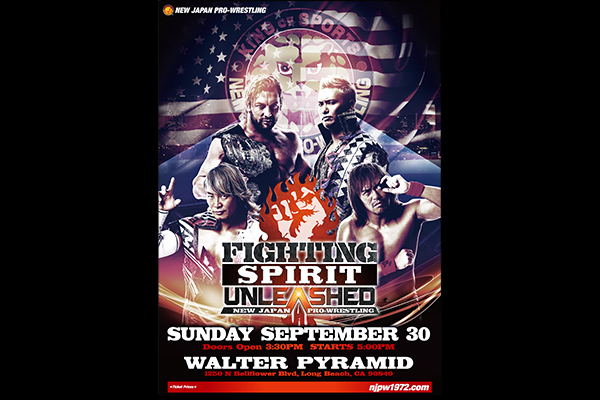 Ticket Sale Date for FIGHTING SPIRIT UNLEASHED Announced!!