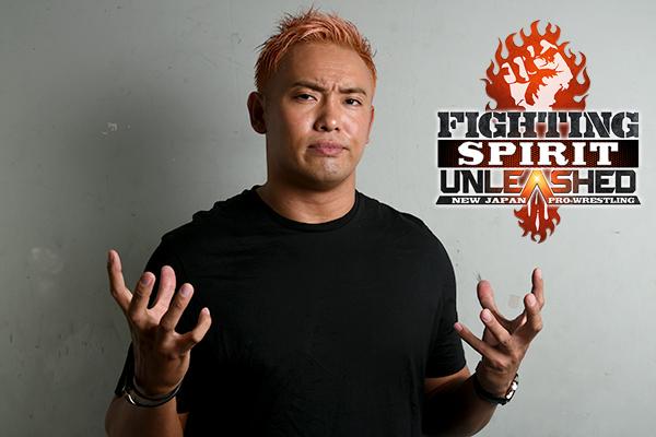 Kazuchika Okada speaks about Fighting Spirit Unleashed!