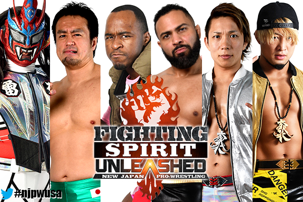 "NJPW: Cartel completo para ""Fighting Spirit Unleashed"" 7"