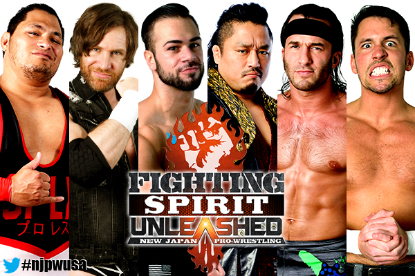 "NJPW: Cartel completo para ""Fighting Spirit Unleashed"" 5"
