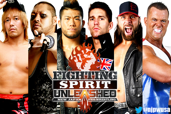 "NJPW: Cartel completo para ""Fighting Spirit Unleashed"" 4"