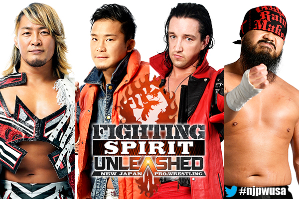 "NJPW: Cartel completo para ""Fighting Spirit Unleashed"" 3"