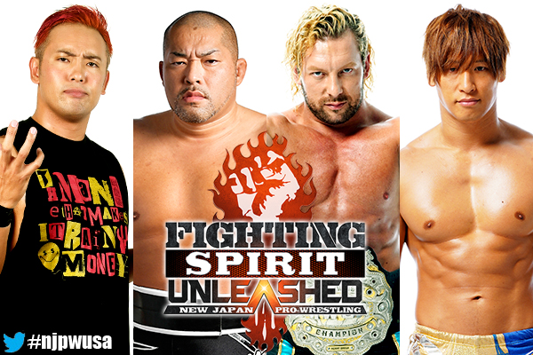 FIGHTING SPIRIT UNLEASHED – Full card released