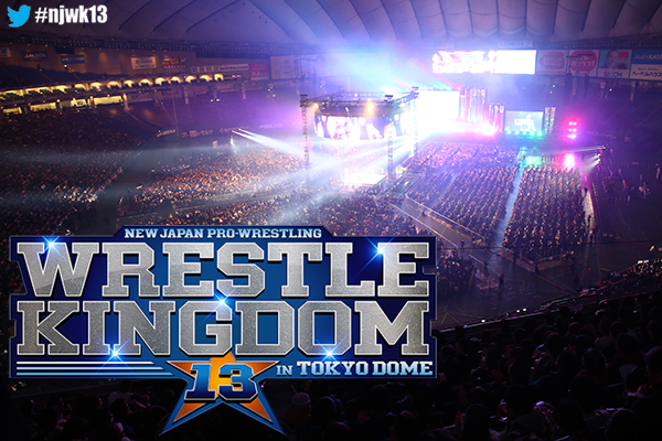 Tickets information for WRESTLE KINGDOM 13 in TOKYO DOME announced!! 【WK13】