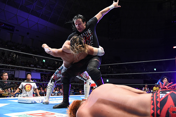 Jay White and Gedo turn on CHAOS, as Gedo proclaims a 'new