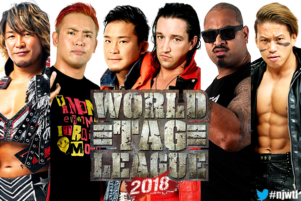 World Tag League 2018 Full Schedule Released New Japan Pro Wrestling