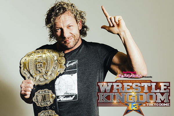 "Special ""WRESTLE KINGDOM 13"" interview with Kenny Omega 【WK13】"
