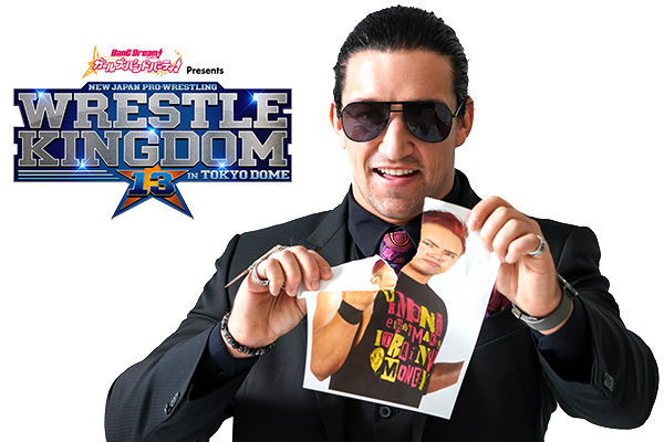 "Special ""WRESTLE KINGDOM 13"" interview with Jay White 【WK13】"