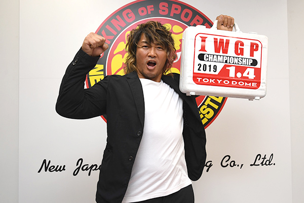 """Tanahashi wins MVP Award of """"Tokyo Sports Pro-Wrestling Awards"""" for the first time in 4 years, now a total of 4 times!"""