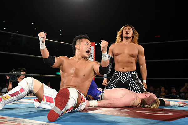 KUSHIDA will face Tanahashi in a singles match on January 29th in Korakuen