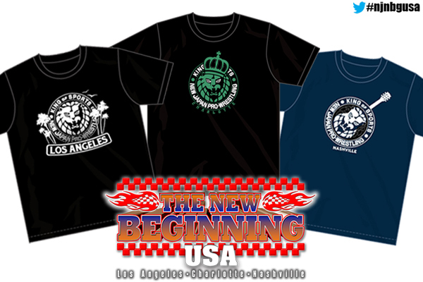 3 exclusive shirts will be available at THE NEW BEGINNING USA!!