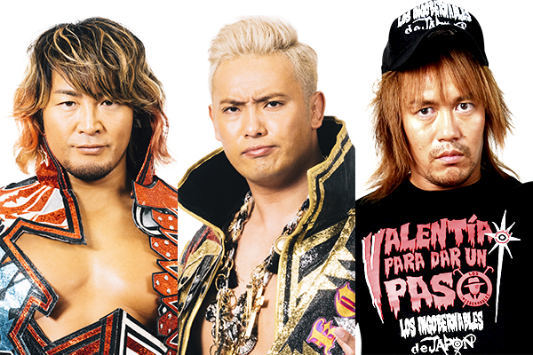 Tanahashi, Okada and Naito will be coming to London!