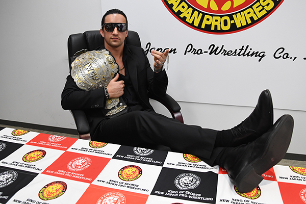 The new IWGP Heavyweight Champion, Jay White, is full of confidence about his upcoming championship defense in Madison Square Garden!