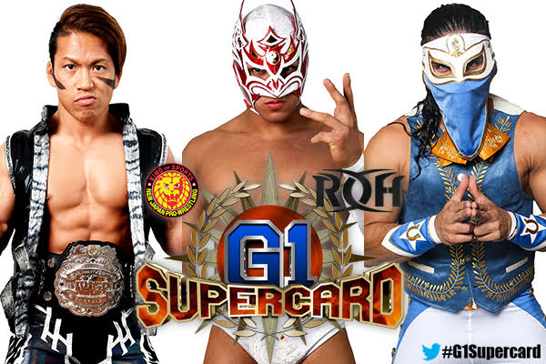 Triple Threat match for the IWGP Junior Heavyweight Championship at MSG now set!