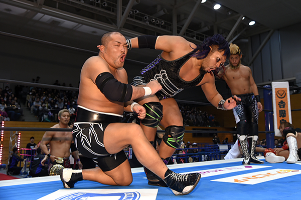 Road to Wrestling Dontaku Night 1 – Full results