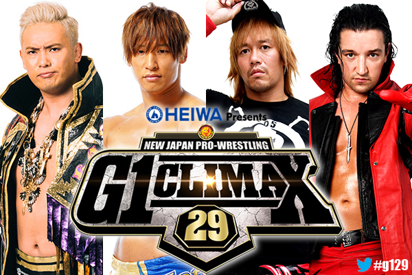 Okada, Ibushi, Jay White, Naito will all be part of G1 Climax 29 opening day in Dallas!