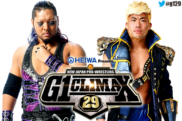 Former IWGP tag team champions EVIL and SANADA will be part of the opening day of G1 CLIMAX in Dallas!【G129】