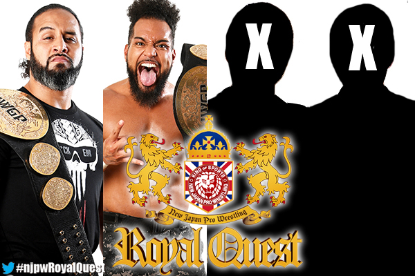 "NJPW: Cartel ""Royal Quest"" Okada vs. Suzuki, Sabre vs. Tanahashi 1"