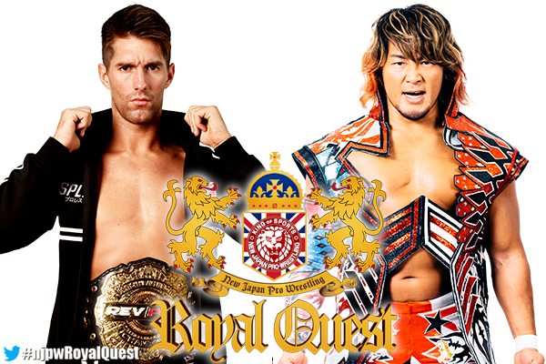 "NJPW: Cartel ""Royal Quest"" Okada vs. Suzuki, Sabre vs. Tanahashi 3"