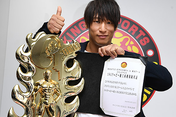 Could Ibushi get all the gold? The G1 winner makes a proposal for WK14! 【G129】