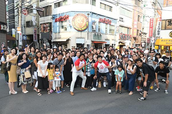 Yota Tsuji and Yuya Uemura meet the fans in Suidobashi!