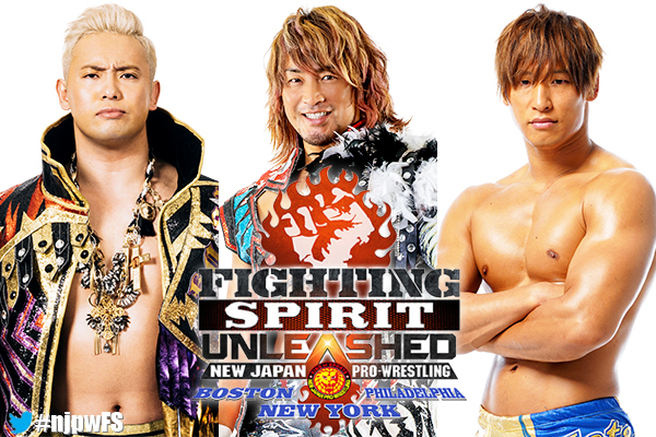 Huge stars confirmed for Fighting Spirit Unleashed this September!