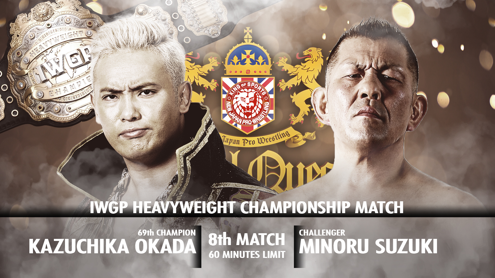 Four title matches highlight a spectacular card for Royal