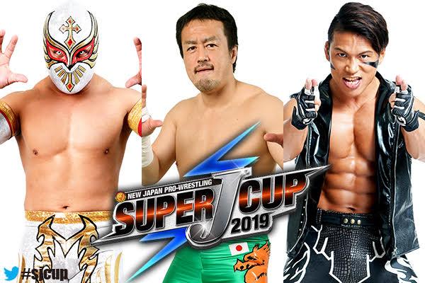 Taiji Ishimori, Ryusuke Taguchi, Caristico enter the Super J-Cup!【SJC19】
