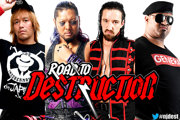 Road to Destruction night 2 preview | NEW JAPAN PRO-WRESTLING