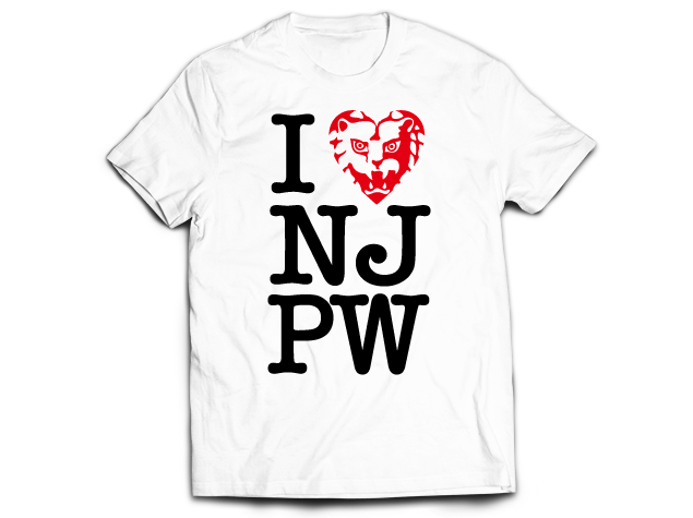 Free T-shirt when you spend $100 or more at New Japan Showdown!