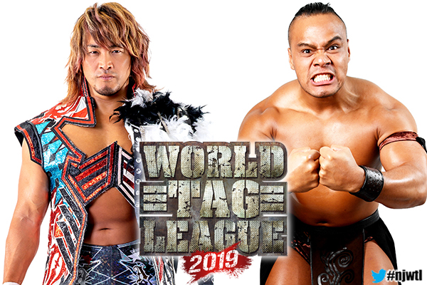 NJPW: Participantes y Calendario de la World Tag League 2019, Terrible incluido 1