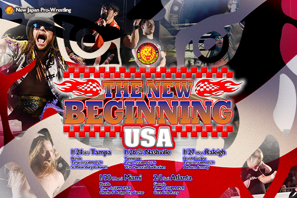 Detailed ticket infomation for THE NEW BEGINNING USA in Tampa and Raleigh announced!! 【NJoA】