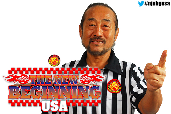 Tiger Hattori to make an appearance at New Beginning in Tampa! 【NJoA】